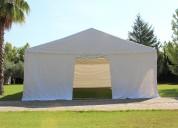 Tenda pavilhão 8x20 xxl