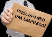 1emprego/desempregados admite colaborador