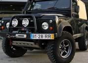 Land rover defender 90 2.5 td5 soft top 8000€