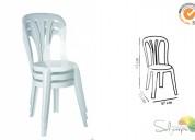 Cadeira garrocha branca
