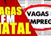 Reforço natal full-time ou part time