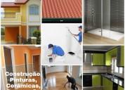Construção civil - orçamento grátis - remodelações