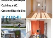Serviços de obras remodelações pinturas telhados