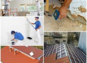 Construções pinturas remodelações serralharia