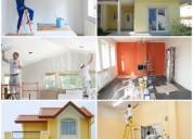 Remodelações pinturas trolha telhados em painel ma