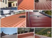 Reabilitação de telhados painel sandwich