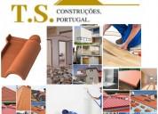 Remodelações e renovação telhado painel sandwich