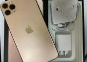 Iphone 11 pro max 256gb dourado desbloqueado