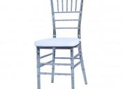 Cadeira tiffany transparente