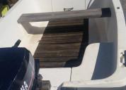 barco motor e atrelado