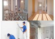 Remodelações vivendas, lojas, pinturas  pladur