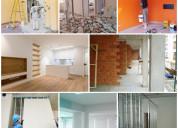 Remodelações vivendas, lojas, pinturas  pladur etc