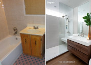 Remodelações de casas de banho / wc.