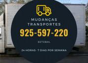 Transportes e mudanças  925 597 220 setúbal barreiro