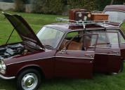 Peugeot 204 combustível