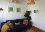 Quartos individuais em apartamento remodelado