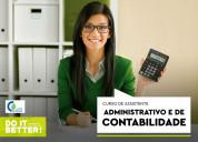 Curso de assist. administrativo e de contabilidade