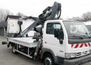 Nissan cabstar 35.10 lionlift galaxy lift gt 18-12